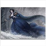 YITUOMO 1000 Piezas de Rompecabezas clásicos para Adultos Blancanieves con Vestido Azul Rompecabezas para niños 75x50cm Juegos educativos de Rompecabezas