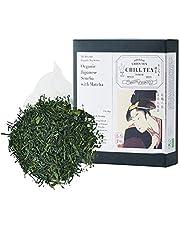 Organische Japanse Sencha met Matcha Groene thee -100% Japanse thee van CHILL TEA Tokyo - 100% Japanse Groene thee - Plasticvrij en biologisch afbreekbaar theezakjes - Frisse Umami (30 theezakjes)