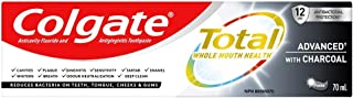 Colgate TOTAL ADVANCED Charcoal Toothpaste, 70 Milliliters