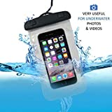 SHOPPOZONE Universal Waterproof Pouch Cellphone Dry Bag Case for iPhone Xs Max XR