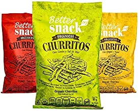 Better SnacksOrg Combo Churritos Organicos Snack, 85 gr (4