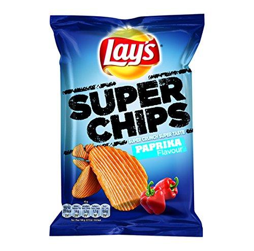 Lay's papas fritas súper paprika 45 gr 20x   Peso total 900 gr
