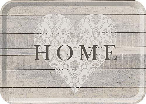 Creative Tops 5166070 'Home' Vassoio con stampa, Grigio, 38.5 x 27.5 cm
