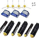 Hencik Juego de accesorios de repuesto para aspiradora Roomba Serie 600 690 680 660 651 650 y 500 (color: kit de 6 piezas) (color: 9 piezas) (color: chocolate)