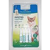 Francodex - Pipetas antiparasitarias para gatos de más de 2 kg