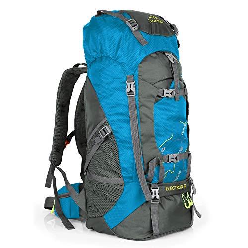 Hiking Backpack 60L Lightweight Water Reasistant Trekking Bag Durable Outdoor Sport Daypack for...