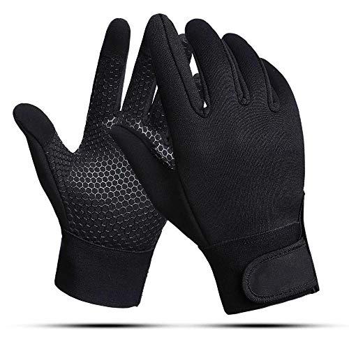 Guantes de ciclismo de invierno, con soporte de muñeca, pantalla táctil, manopla de dedo completo, deportes al aire libre, antideslizante, resistente al viento, para esquiar, uso diario-SG