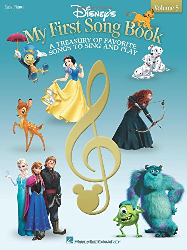 Disney's My First Songbook: Volume 5 (Easy Piano) (Disneys F