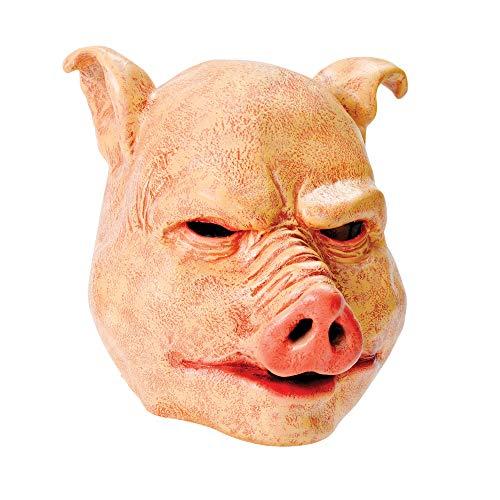Rubie s BM370–Maske Schwein Latex, Einheitsgröße