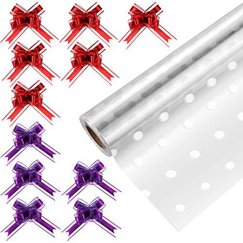 STOBOK Cellophane Wrap Roll | Un...