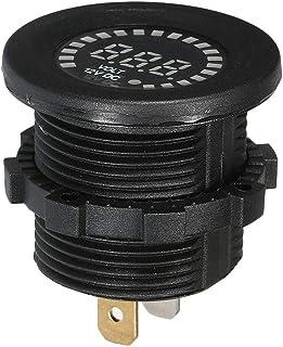 Voltímetro da exposição do painel do diodo emissor de luz do medidor de tensão de 12V Digitas mini para a motocicleta do c...