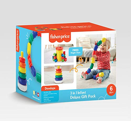 Fisher Price 3-in-1 Infant Deluxe Gift Pack