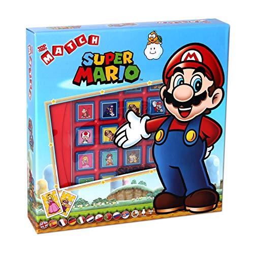 5964 Winning Moves Top Trumps Super Mario Match