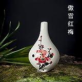 6穴オカリナ心臓CトーンオカリナスズAC 便利な楽器、オカリナ (Color : Aoxue Hongmei)