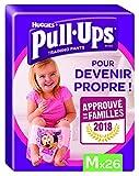 Huggies Pull-Ups Fille Taille 5/Medium (11-18 kg), Couche-Culotte d'Apprentissage de la Propreté Disney Princesses x52 (2 paquets de 26 culottes)