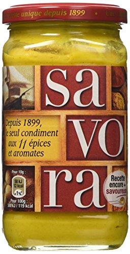 Amora Savora Milder Senf aus Frankreich 385 Gramm