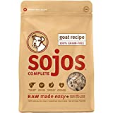 sojos complete dog food with goat - NEW