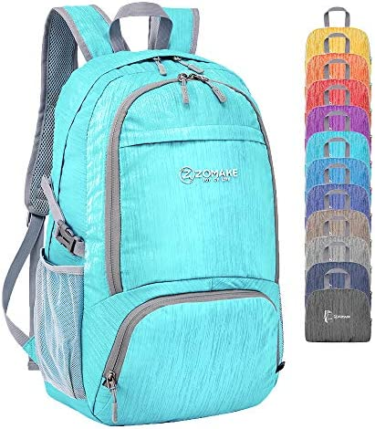 ZOMAKE 30L Lightweight Packable Backpack Water Resistant Hiking Daypack 2020 Version product image