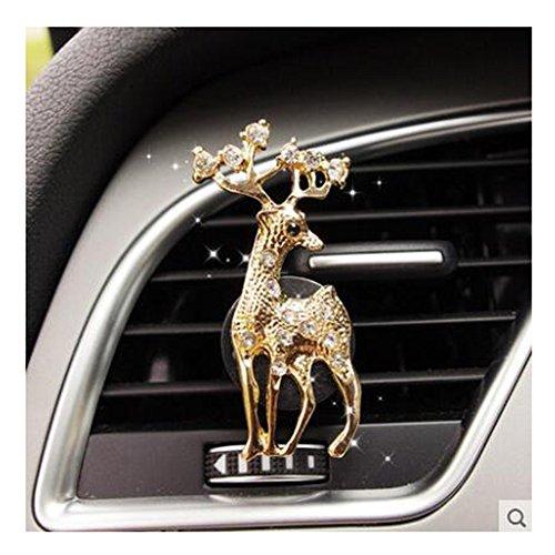 luckyshd coche perfume Clip Diamante Corona coche aromaterapia con ventilación clip