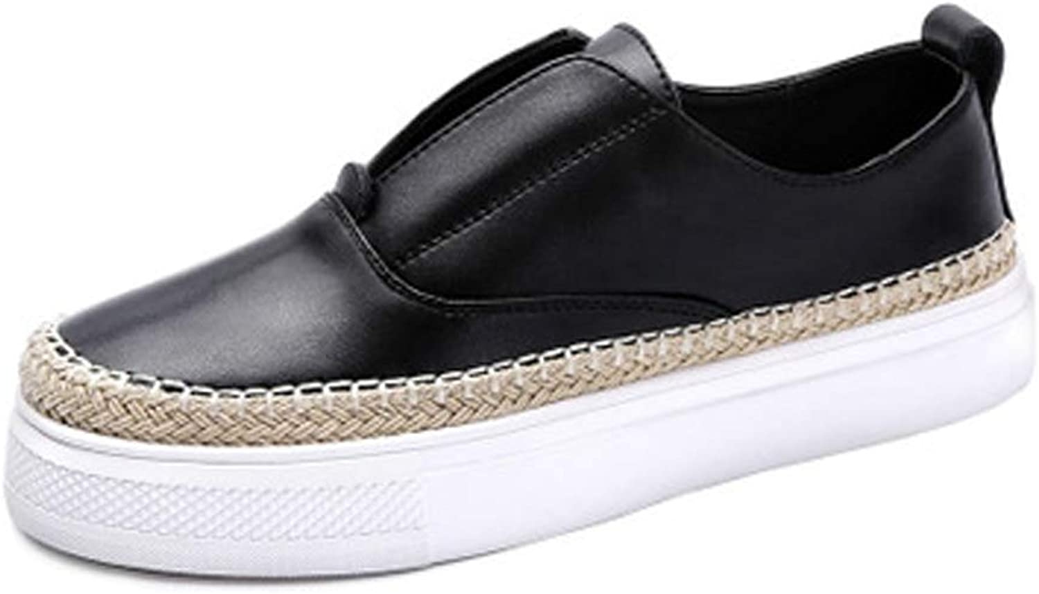 Women's Flat Casual shoes Weaving College Wind Women's shoes.