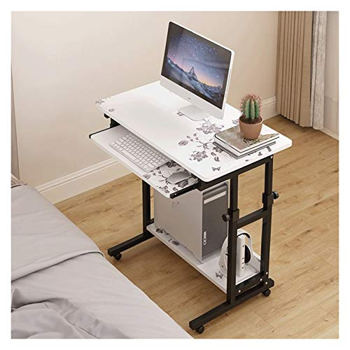 Side Table Mobile Table Workstation Computer Desktop Table Home Lift Bedside Table Space Saving Removable Lazy Table Simple Single Small Table Portable Side Table (Color : Type F)