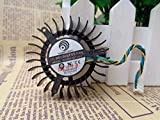 Cooling Fan PLB05010S12H-3 For PowerLogic DC 12V 0.27A 4-wire 55x55x13mm Cooling Fan