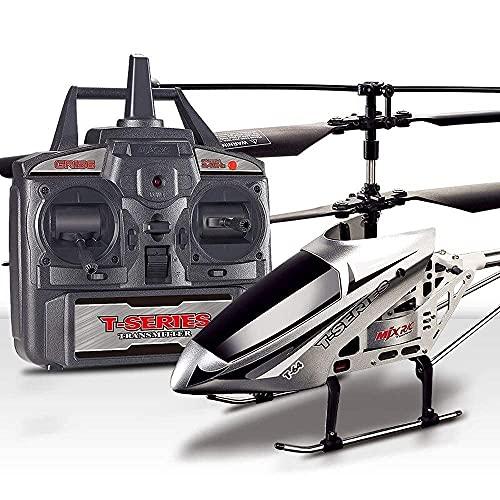 Resistenza alla caduta Radiocomando Elicottero Aereo Aereo 3.5 Ch Giroscopio incorporato Drone anticollisione Lunghezza giocattolo - Bambini Ragazzi adolescenti Regali Resistenza agli urti Bambini a