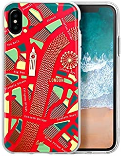 LAUT Nomad iPhone X Case - London