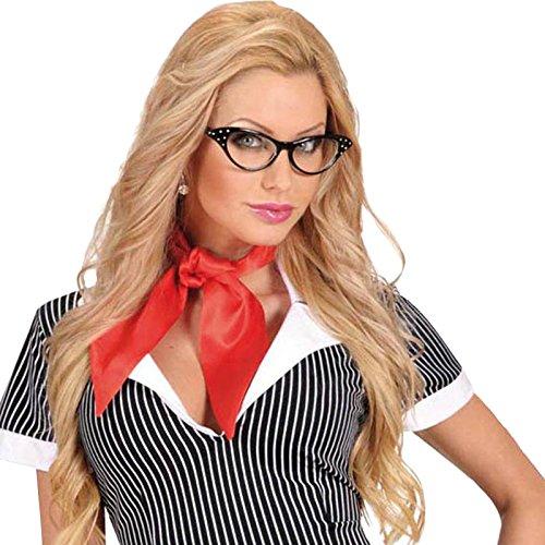 WIDMANN Damen Halstuch Mehrfarbig rot 100 cm