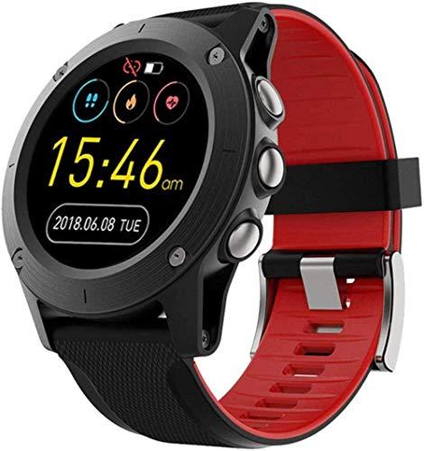 JSL Reloj inteligente para hombre y mujer, con monitor de sueño de ritmo cardíaco, podómetro, cronómetro, pantalla táctil completa, reloj inteligente IP68