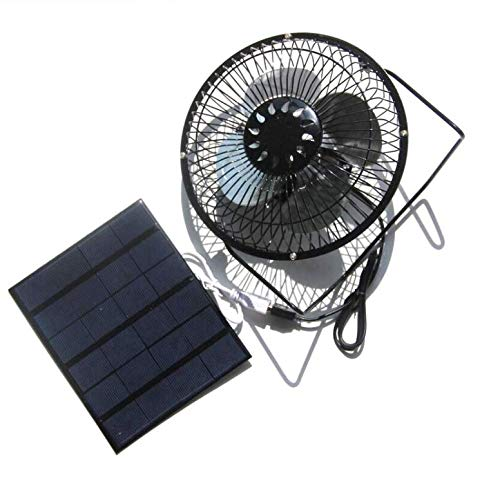 TKFY Solar-Panel Ventilator tragbare Mini-USB-Lüfter 6 v 3.5 W