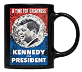 N\A JFK John f Kennedy für Präsident Becher Retro Poster