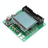 HONYGE LXGANG Multímetro digital 3.7 V DIY transistor gráfico probador LCD multímetro digital diodo inductor condensador ESR Meter, con Shell Spot Steuermodul