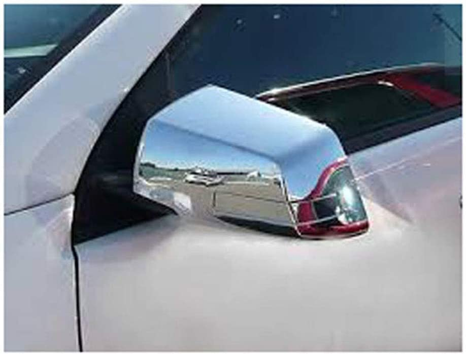For 2009-2011 Chevrolet Traverse Chrome Cover Combo Mirror Tailgate Cover