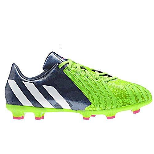 Adidas Predator Absolado Instinct TRX FG Kids Grün-Blau, Größe:5.5 UK - 38.2/3 EU