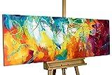 KunstLoft Acryl Gemälde 'Bright Future' 150x50cm handgemalt Leinwand Bild