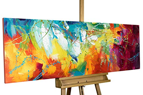 KunstLoft® Acryl Gemälde \'Bright Future\' 150x50cm handgemalt Leinwand Bild