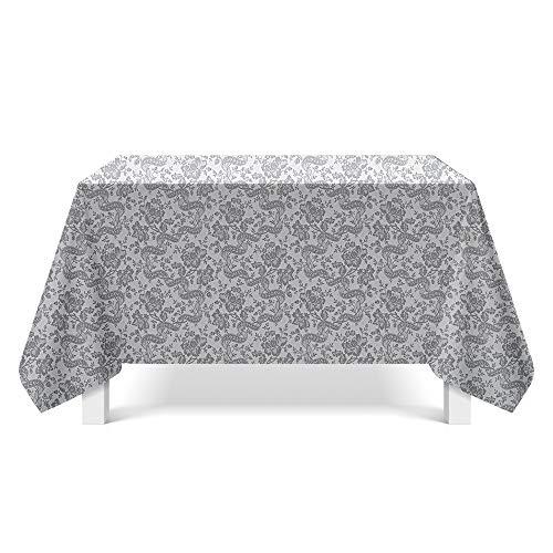 DREAMING-Muster Stoff Kunst Tischdecke Home Esstisch Stoff Tv-Schrank Couchtisch Stoff Runde Tisch Tischset 85cm * 85cm