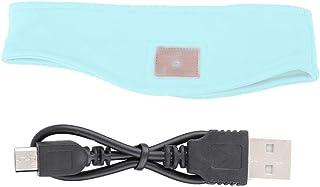 Lazmin Diadema y Banda de Dormir inalámbricas, Diadema portátil con Bluetooth de Alta fidelidad y música para Deportes al Aire Libre(大红)