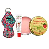 Smith's Strawberry Lip Balm in Tin Can 0.8oz (22g) and Tube 0.5oz (14.2g) Bundle — Lip Care Moisturizers for Dry, Chapped and Cracked Lips (Strawberry) -  ROSEBUD SALVE