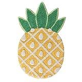 Sass & Belle Lustiger Teppich Tropical Ananas - Maße ca. 83 x 49 cm
