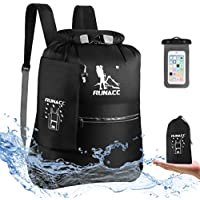 Runacc 20L Floating Waterproof Dry Bag Backpack with Free Waterproof Phone Case