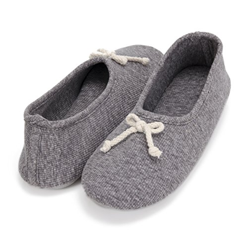 Moxo Women's Memory Foam Bedroom Ballerina House Slippers