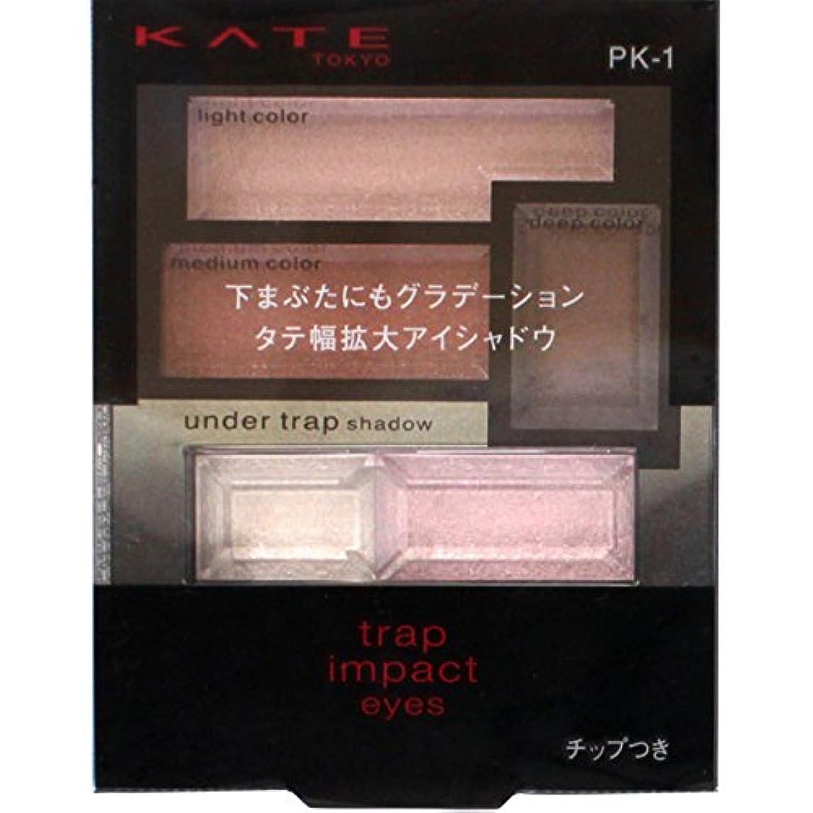 摂氏石膏パーティーカネボウ ケイト トラップインパクトアイズ PK-1