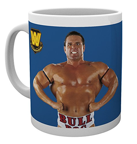 GB Eye LTD, WWE, Legend - British Bulldog, Taza de Ceramica