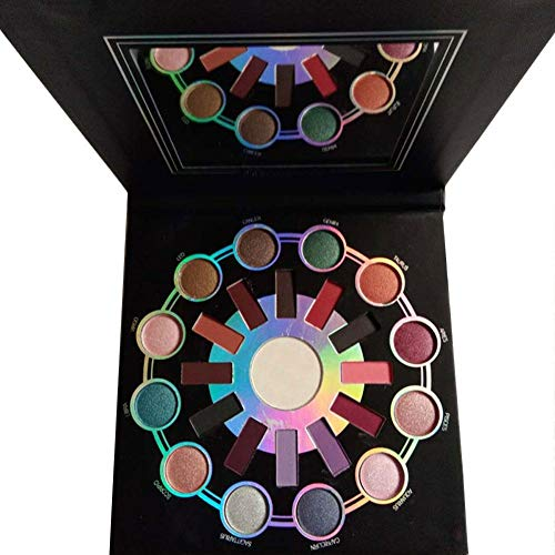 Fiaoen Matte Makeup Eyeshadow Palette Zodiac 24 Cuentas de Alto Brillo