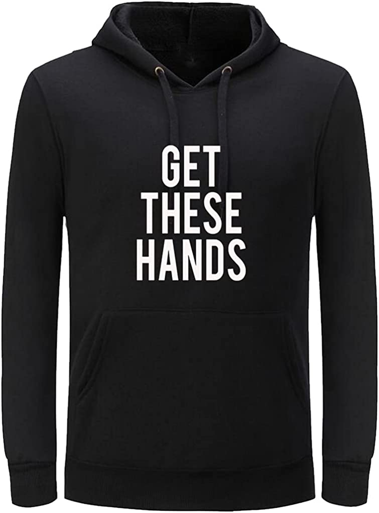 Unisex Clothes Get These Hands Fashion Casual Loose Pullover