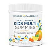 DAILY ESSENTIAL NUTRIENTS - Zero Sugar Kids Multi Gummies provide 18 nutrients, including zinc and essential vitamins A, B, C, D3, and E, to help support growth and development in the early years and beyond. DELICIOUS & CONVENIENT - Each orange lemon...