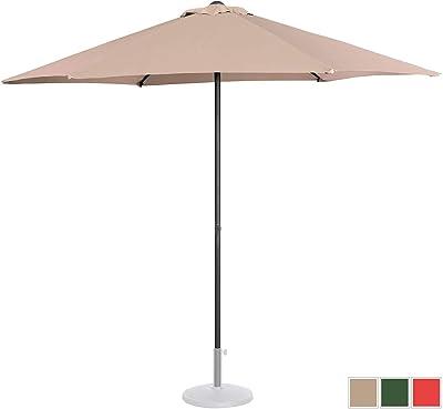 Uniprodo Sombrilla Grande Parasol De Jardín Uni_Umbrella_MR270CR ...