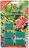 COMPO Varitas fertilizantes para plantas de interior y exterior, Larga duración de hasta 3 meses, 30 unidades